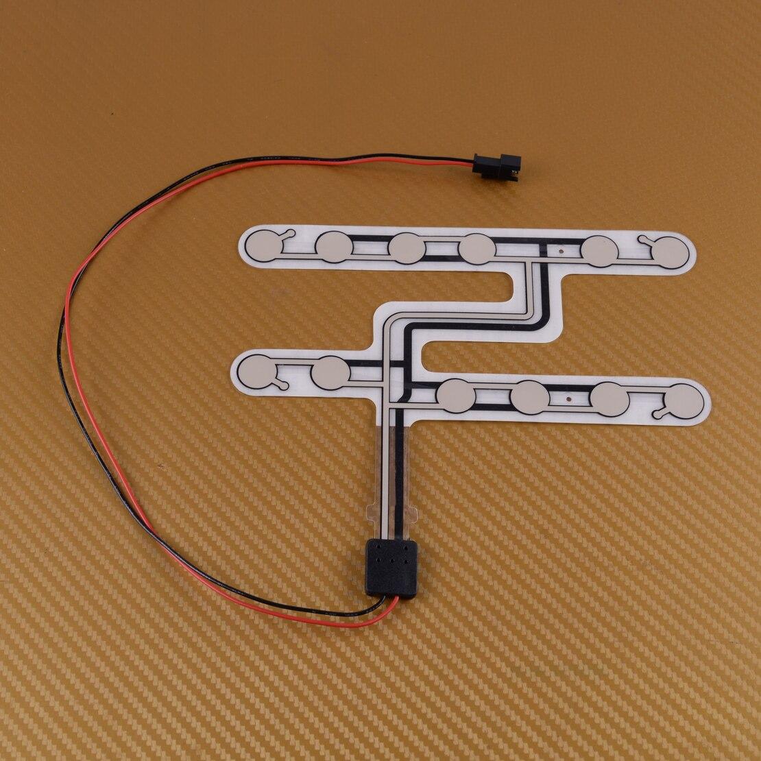 Citall Mobil Universal Sensor Tekanan Safety Belt Aksesori Peringatan Pengingat Pad Sibuk Duduk Alarm title=