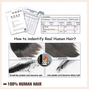 Image 5 - Fita adesiva de onda natural brilhante, 50g 20 pçs, fita adesiva, feita à máquina, cabelo humano remy cola preta na