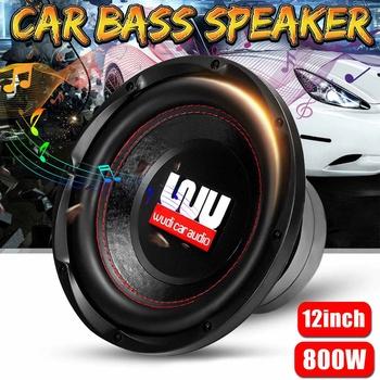 12 #8222 800W samochodowe głośniki samochodowe Subwoofer samochodowy DIY Bass Horn muzyka Stereo Hifi pojazd muzyka głośnik niskotonowy tanie i dobre opinie Audew B81033 Subwoofery komponent 12 v 12inch