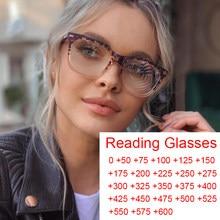 Fashion Square Designer Lesebrille Frauen Klar Leopard Anti Blau Licht Brillen Hyperopie Rezept Brillen Dioptrien +