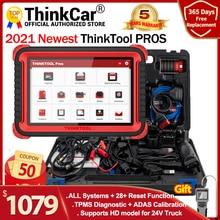 "THINKCAR THINKTOOL Profis auto Diagnose Werkzeug 10 ""Full System ADAS OBD2 Code Scanner 28 Reset Funktion online Programm pk x431 V +"