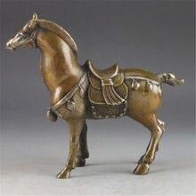 Statue de cheval en laiton marteau manuel | Sortie d'usine, rare en cuivre, vieux marteau manuel de chine