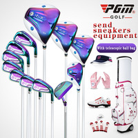 Women's pgm Golf Irons Ms Club Adult Complete Cue Kit clubs ladies' 12pcs/set of clubs driver+fairway wood+irons+putter+Ball bag