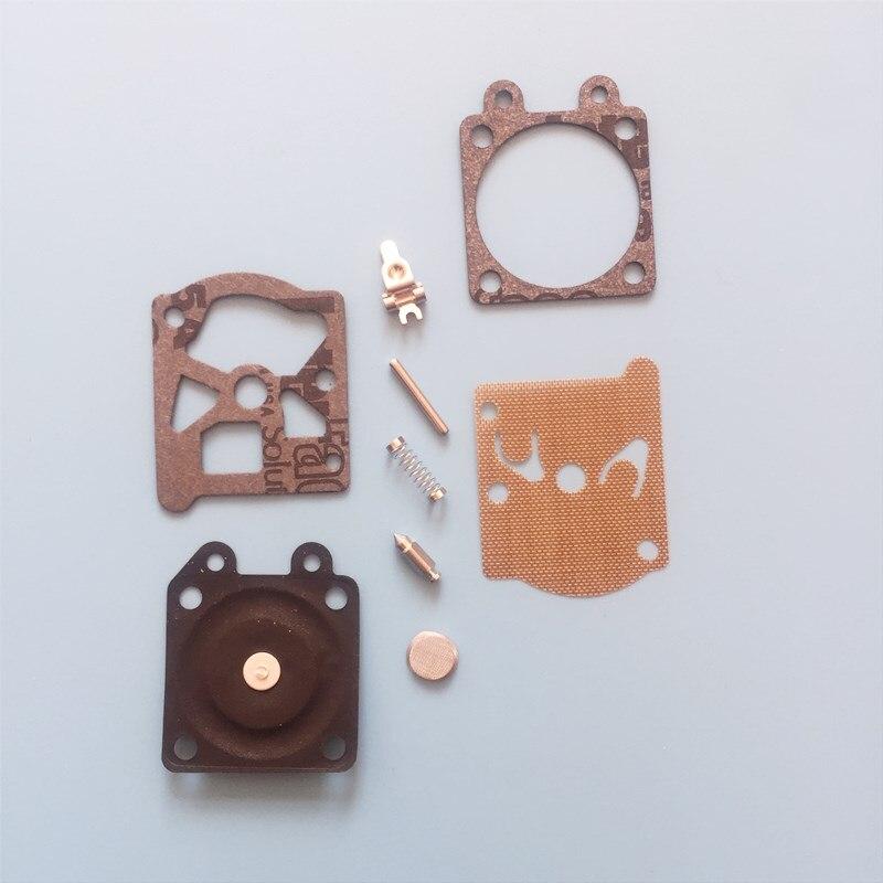 1set Carburetor Repair Kit Chainsaw Repair Kit For Walbro 3800 4500 5200 Carburetor