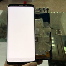 2960*1440 100% ORIGINAL LCD mit Rahmen für SAMSUNG Galaxy S9 Display S9 + Plus G960 G965 Touchscreen digitizer + Tote Pixel(China)