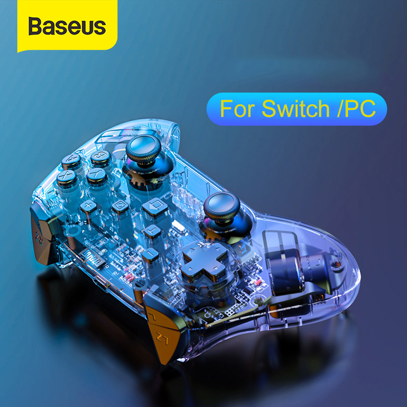 Baseus Wireless Bluetooth Gamepad For Nintendo Switch Controller Remote Console For NS PC Computer Joystick Games Accessories