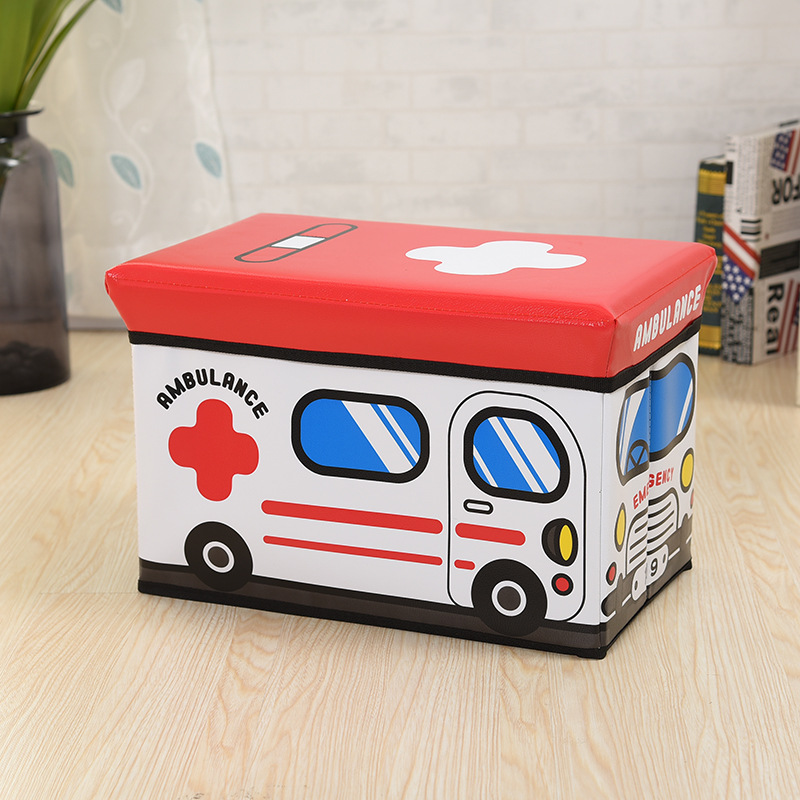 Manufacturers Direct Selling CHILDREN'S Cartoon Storage Chair Toy Car Modeling Storage Box Personalized & Creative Life Supplies