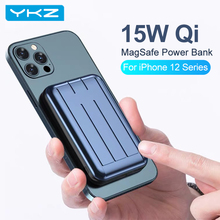Power-Bank Battery-Charger Magnetic iPhone Wireless Type-C Portable YKZ 15W for 12/Pro-max/20w/..