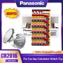 400 Panasonic PÇS/LOTE CR2016 3V CR Bateria de Lítio 2016 DL2016 LM2016 KCR2016 ECR2016 GPCR Para O Relógio de Brinquedo Chave Do Carro Botão de Célula tipo Moeda