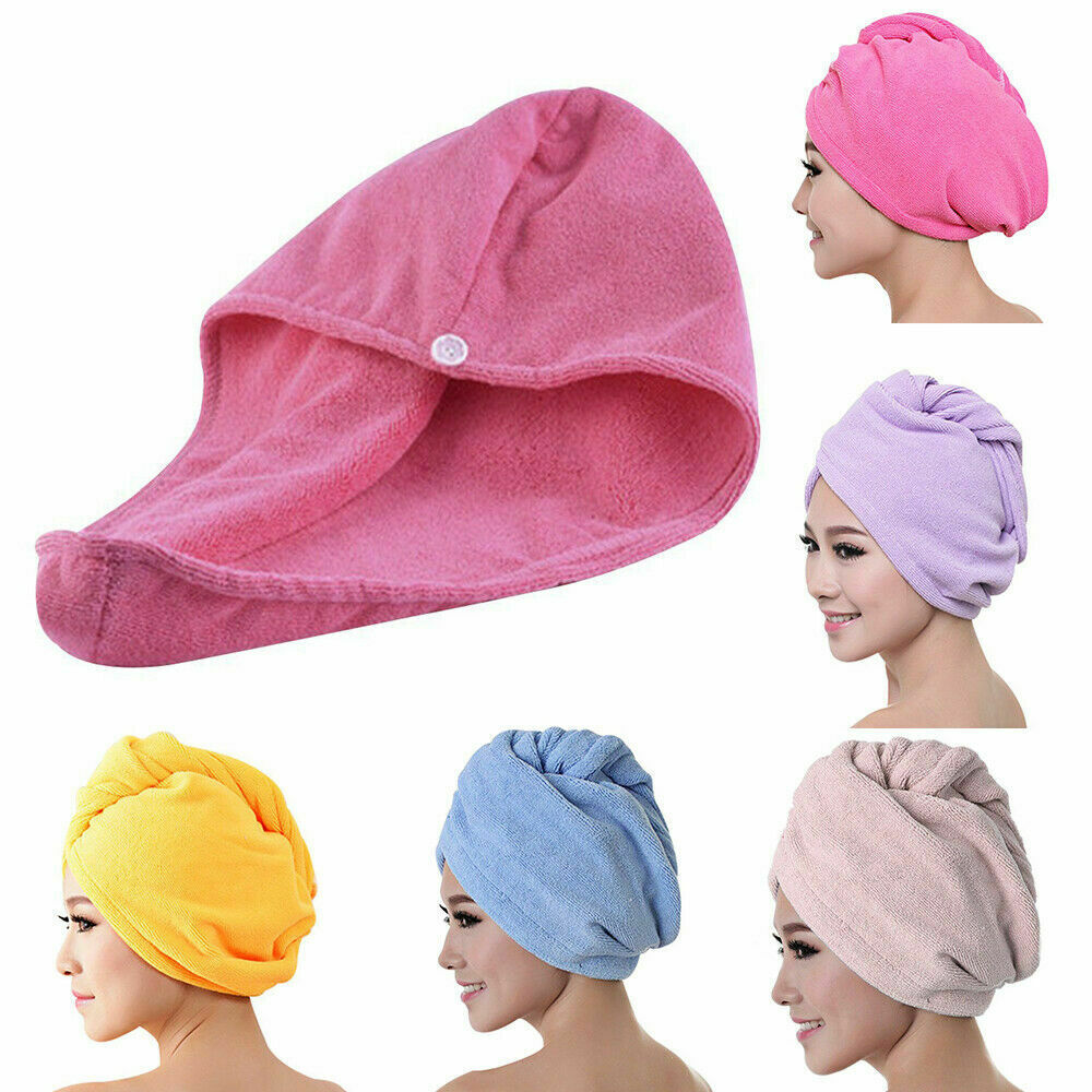 Rapid Drying Hair Towel Thick Absorbent Shower Cap Hot Sale