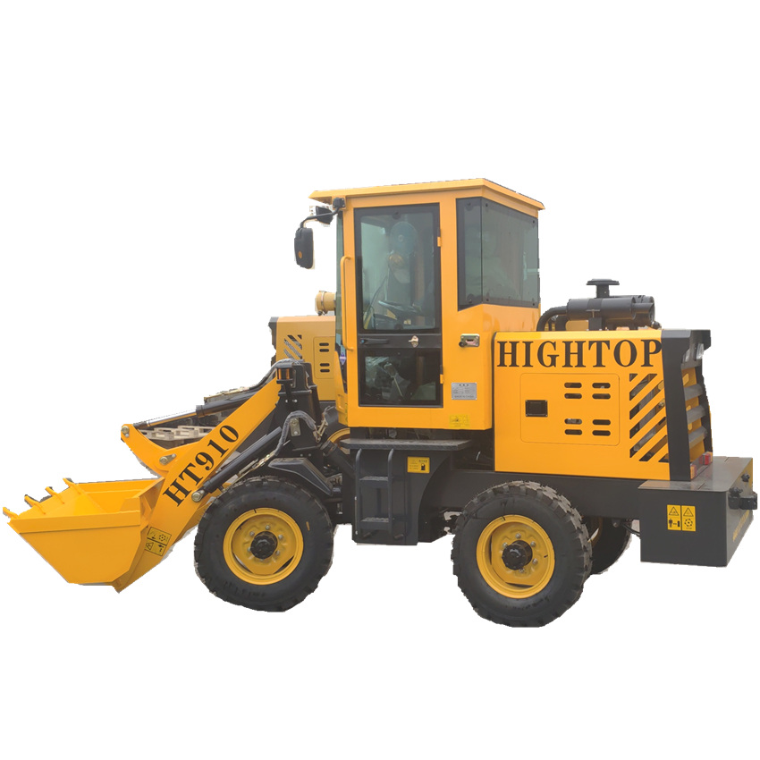 Mini 2 Ton Front End Wheel Loader HT-910 Model 0.6m3 Bucket