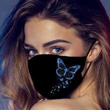 Kafa bandı maske máscara 1 adet ağız maskeleri için toz' koruma Anti-yüz maskesi yıkanabilir kulak askısı maskesi маска на рот mascarar Maske #