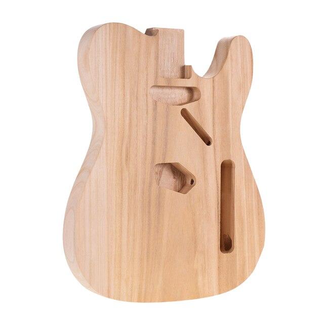 Handmade Solid Wood Electric Guitar Body Material DIY for Guitar Part