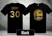Goden Stat Warrios Stephen Curry Gold  T- Shirt NEW