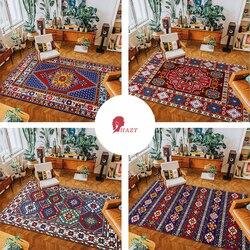 HAZY bohême tapis et tapis pour la maison salon chambre tapis de sol coussin de pied chambre étude tapis de sol matelas de prière