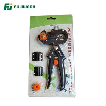 FUJIWARA Grafting Shears Scissor  Fruit Tree Vaccination Multi-function Bud Cutter 3 Styple Blade Gardening Tools - Normal type