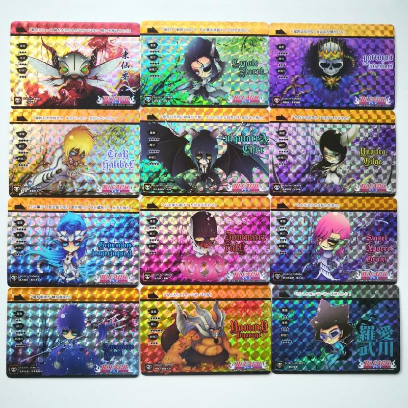 54pcs/set Bleach Q Version Toys Hobbies Hobby Collectibles Game Collection Anime Cards Kurosaki Ichigo Free Shipping