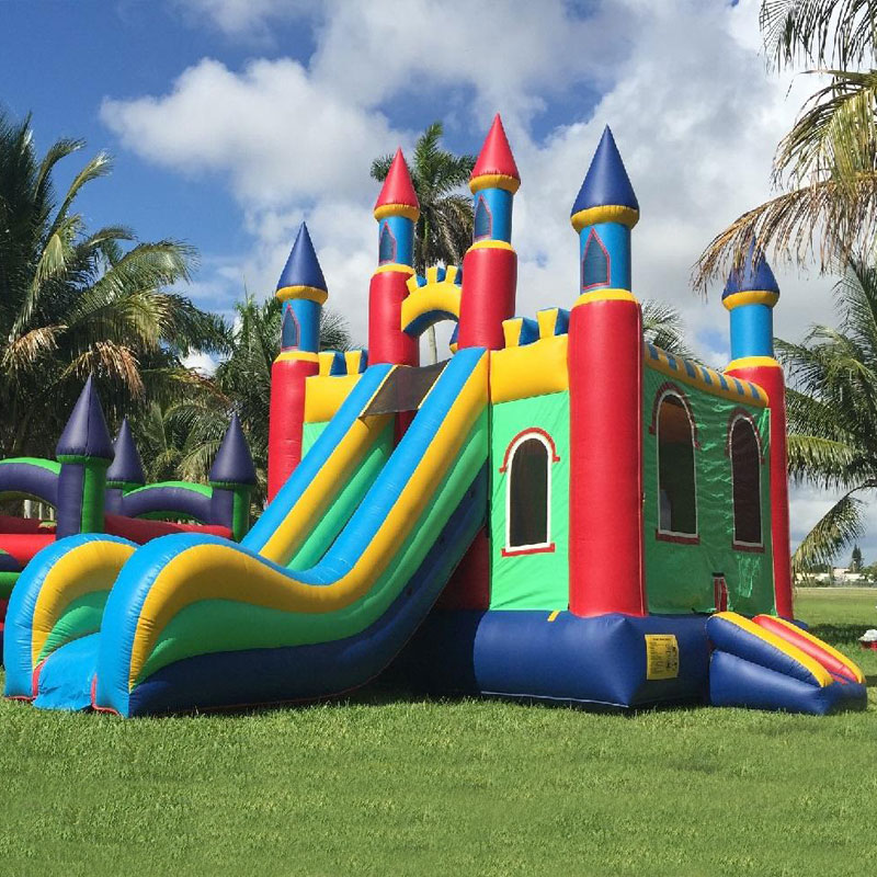 Commercial inflatable adult jumping bouncy castle jumping house and slide  combo|Playground| - AliExpress