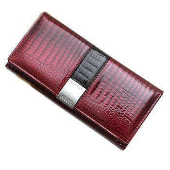 2020 new wallet female genuine leather coin purse luxury designer women wallets long purses