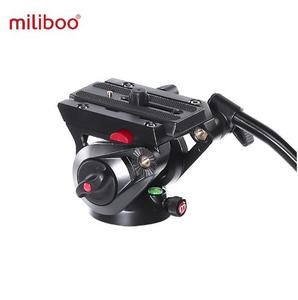 Image 3 - Miliboo MTT705II Carbon aluminio Fiber Portable Fluid Head Camera Monopod For Camcorder/DSLR Stand