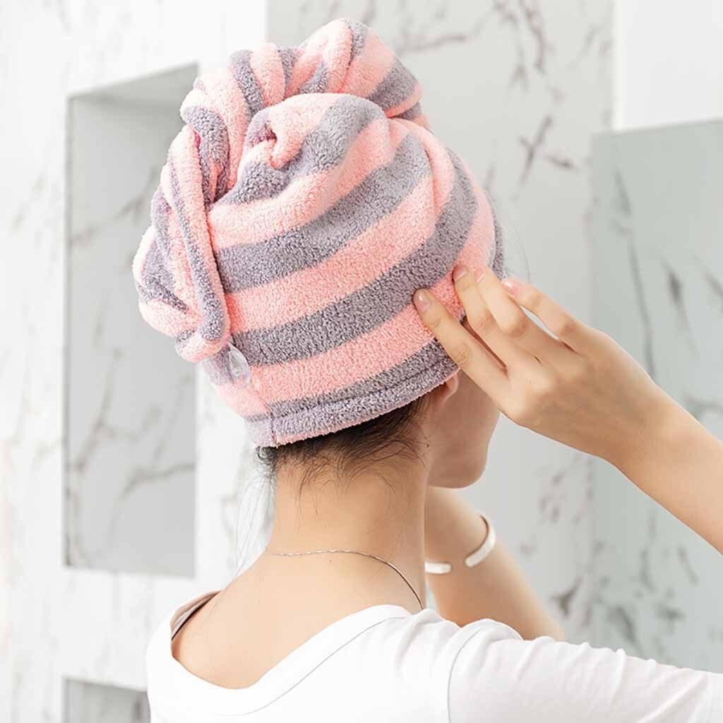 DrY Turban New Arrival Textile Hat Cap Shower Hat Bath Towel Hair Towel