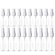 20 упаковок прозрачные пластиковые штраф туман спрей бутылки,пластиковые бутылки многоразового использования,10 мл/20 мл,для эфирных масел, путешествия,чистящие
