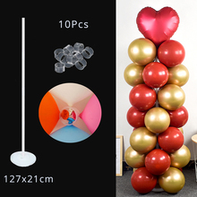 1Set Height Balloon Column Kit Base Stand Birthday Party Decorations Adult Wedding Christmas For Home