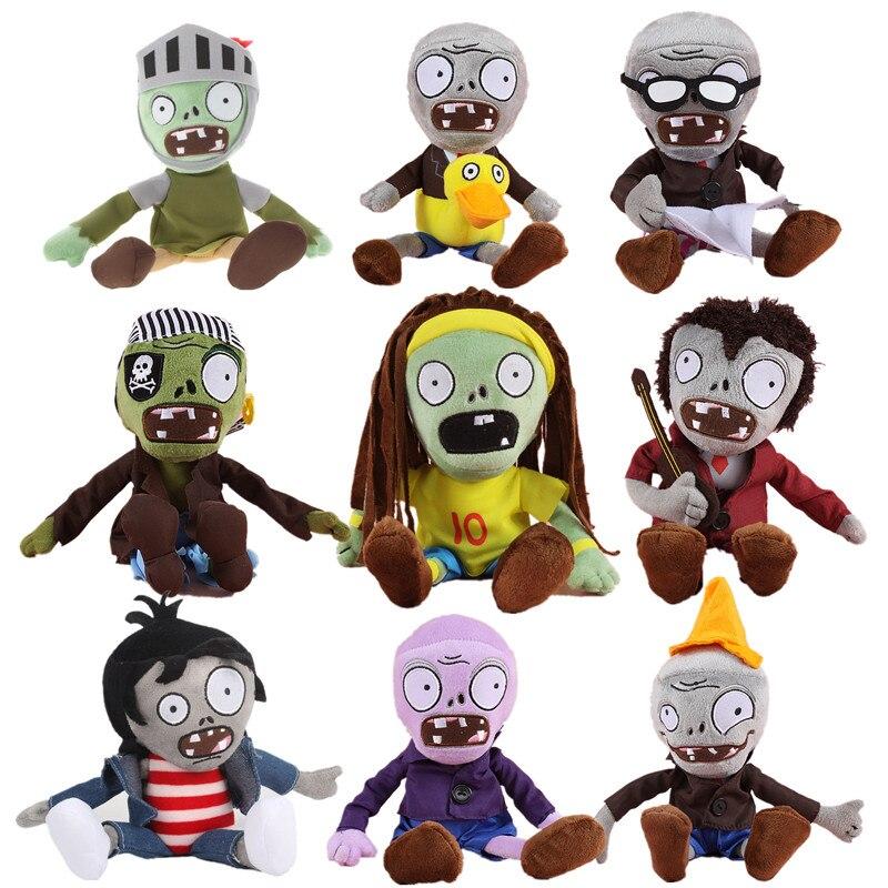 Plants Vs Zombies Plant 30cm Plush Toys Stuffed Soft Plush Doll Toys Plantas Vs Zombies For Kids