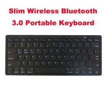 Neue Dünne Drahtlose Bluetooth 3,0 Tragbare Tastatur 78 Taste Licht Gewicht Schnelle Eingabe Soft-Touch für iMac/iPad/ android/Telefon