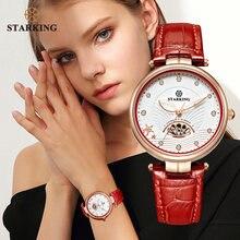Starking Роскошные ювелирные изделия женские часы сапфировое