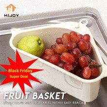 Кухонный треугольный ситечко для раковины, слив овощей, фруктовый слив, корзина на присоске, держатель для губки, стеллаж для хранения, полка для фильтра для раковины