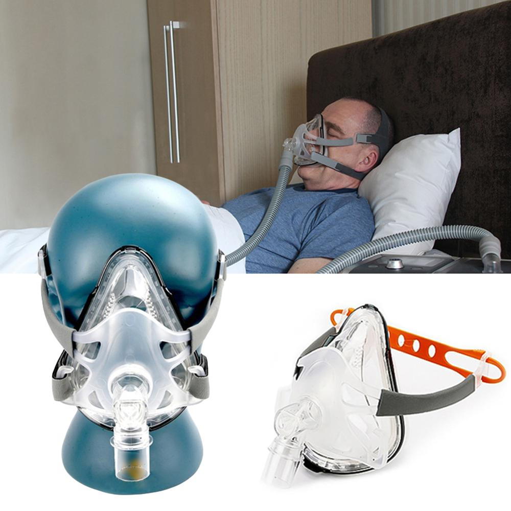 F1A Full Face CPAP Mask with Adjustable Headgear for Comfortable Respirator and Snoring Therapy 1