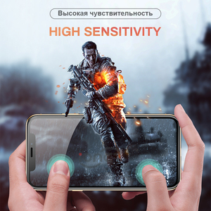 Image 3 - Full Cover 30D Protective Glass For iPhone 7 6 6s X Tempered glass on iPhone 7 8 Plus Xr Xs 11 pro Max X Screen Protector