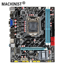 MACHINIST H55 материнская плата разъем LGA 1156 Sup порты DDR3 16G и I3/I5/I7 cpu PCI-Express USB2.0 порты основная плата