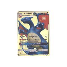 Высокое качество игры аниме битва карт золотая металлическая карточка Коллекционная Фигурка Модель Детская игрушка подарок
