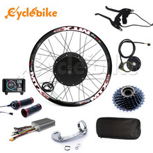 TFT display system 48v-72v 3000w electric bike conversion kit sinewave controller 100km/h speed max(China)