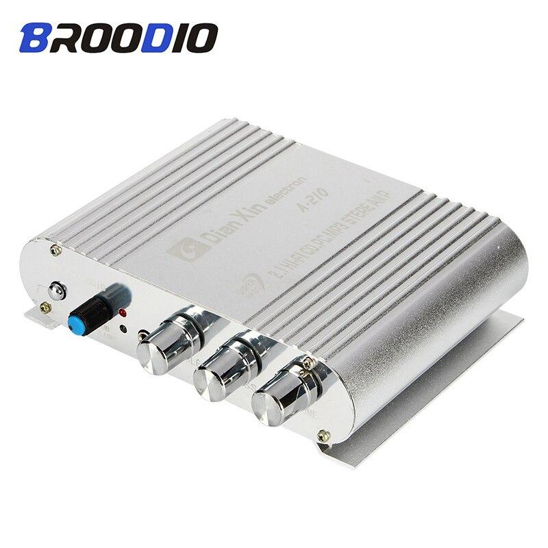 HiFi Amplifier Board 2.1 Channel 40W*2+50W 3.5mm AUX Car Sound Subwoofer Amp DC12V-15V Audio Amplifiers Module For Home Speaker