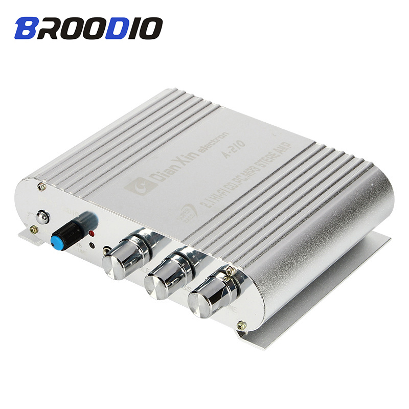 HiFi <font><b>Amplifier</b></font> Board 2.1 Channel 40W*2+<font><b>50W</b></font> 3.5mm AUX Car Sound Subwoofer Amp DC12V-15V Audio <font><b>Amplifiers</b></font> Module For Home <font><b>Speaker</b></font> image