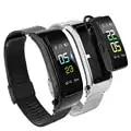 Y5 Smart Sport Braccialetto Bluetooth Auricolare A Due in un Passo di Frequenza Cardiaca Pressione Sanguigna Chiamata di Promemoria Push VS b31 Y3 Braccialetto Intelligente