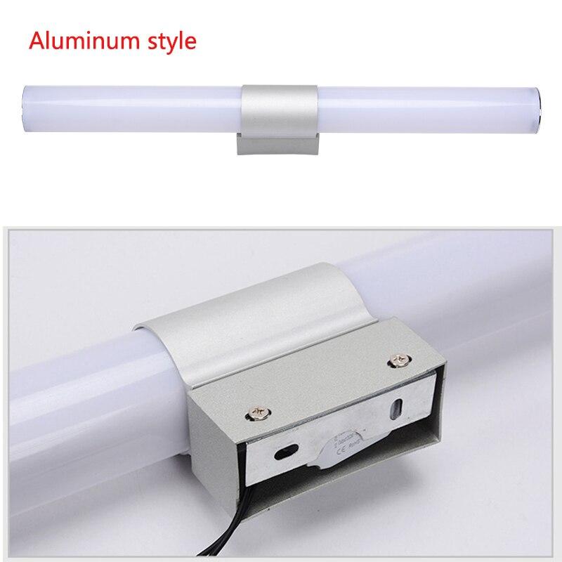 12/16/22W Mirror light Stainless steel & aluminum Modern LED Light Bathroom living room home hotel Wall Toilet lamp ZJQ0014 5