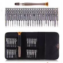 цена на New Leather Case 25 In 1 Torx Screwdrivers Set Mobile Phone Repair Tool Kit Multitool Hand Tools For Iphone Watch Tablet PC 2019