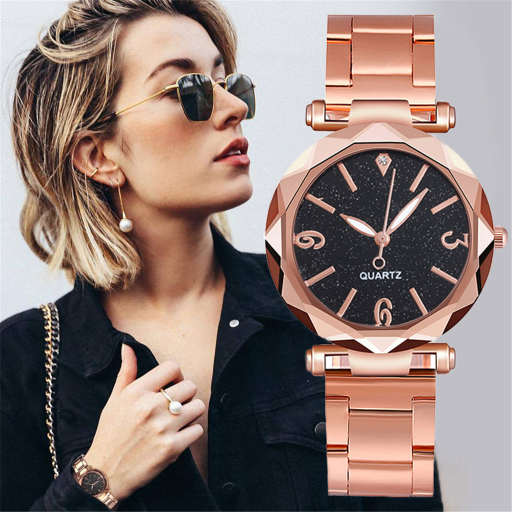Starry Sky Luxury Watches Women Quartz Watch Stainless Steel Dial Casual Bracele Watch Women 2020 Gift Reloj Mujer Montre Femme