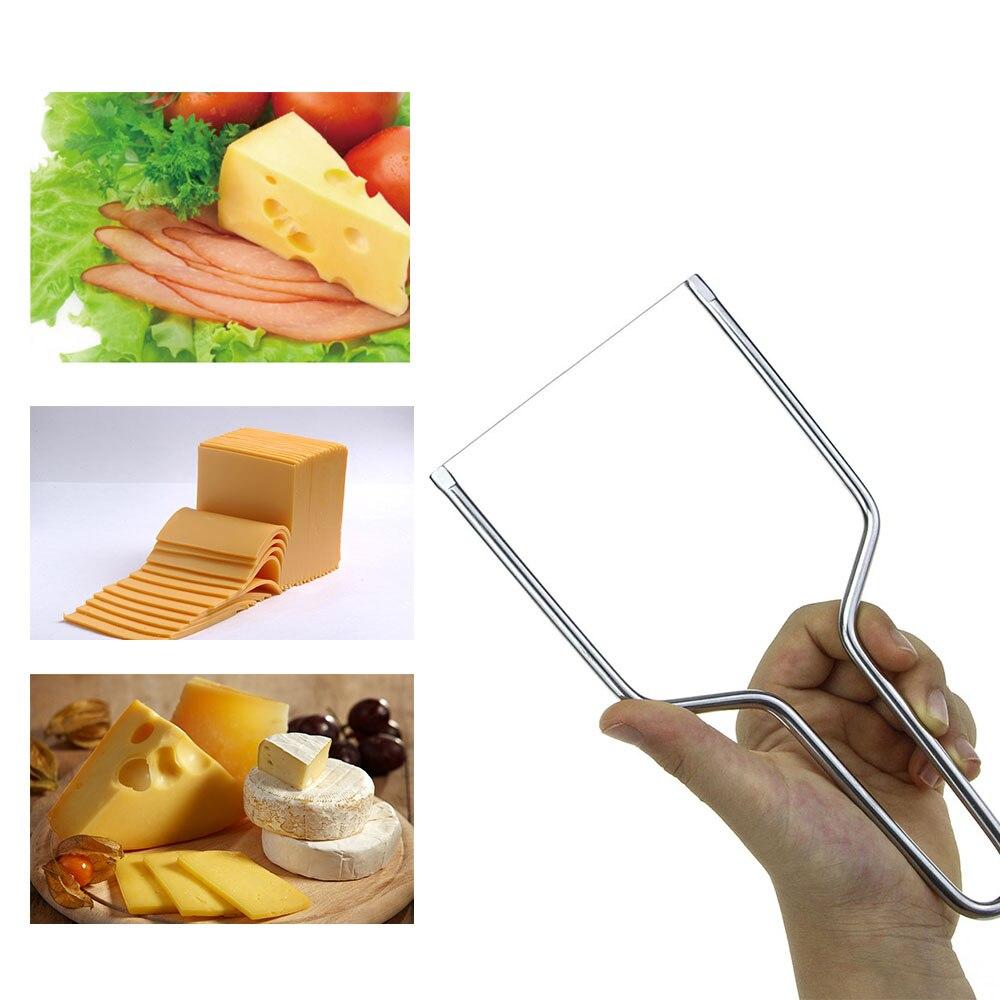 Слайсер для сыра из нержавеющей стали, Экологичная разделочная доска для масла, нож для резки масла, кухонные инструменты, доска для сыра, ма...