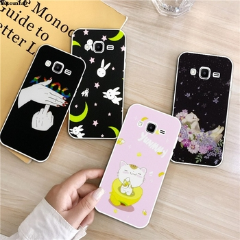 Hand 3 Silicon Soft TPU Case Cover For Samsung Galaxy Core Grand Prime Neo Plus 2 G360 G530 I9060 G7106 Note 3 4 5 8 9 image