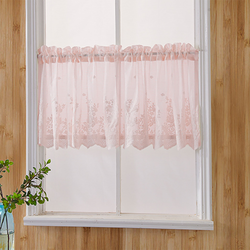 Short Curtains For Kitchen Sheer Voile Curtains Valance For Window Treatment Tulle Curtains For Living Room Bedroom