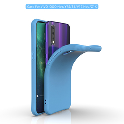 На Алиэкспресс купить чехол для смартфона soft silicone candy color phone case for vivo v15 y17 y3 y12 y15 u3x u10 z5x z1 pro protective back cover case