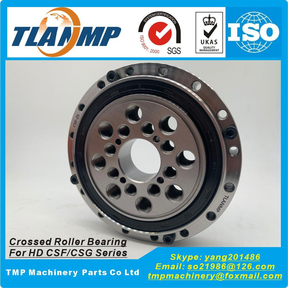 CSF-25 , CSG-25 , CRB25-85 Cross Roller Bearing For CSF/CSG Series Harmonic Drive Gear Speed Reducer-TLANMP Brand Bearings