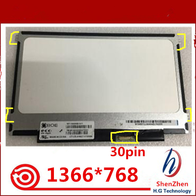 with Tool Kit LCD for Dell Chromebook 11 /& Acer C720 Matte 30 Pin