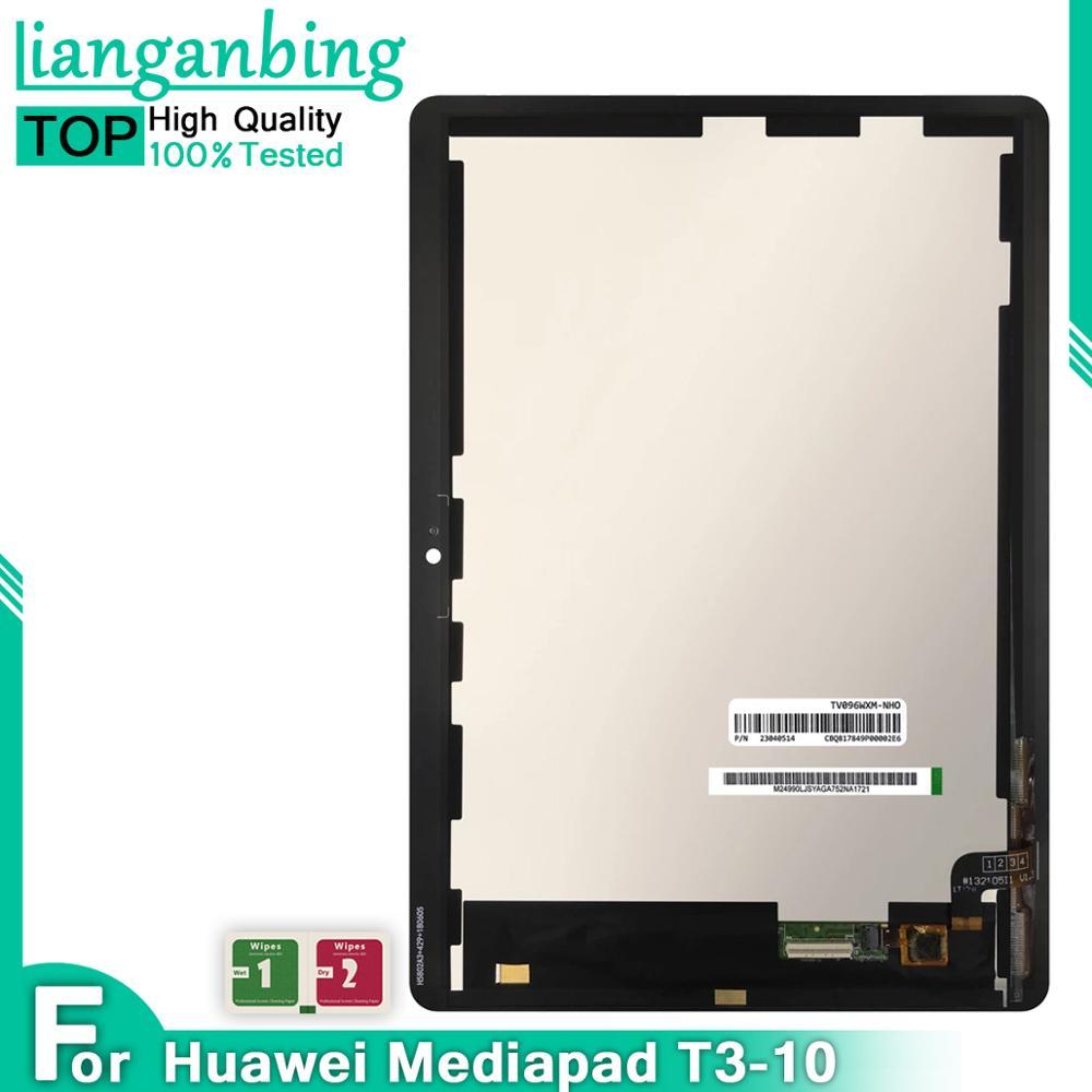 LCD para Huawei Mediapad MediaPad T3 10 AGS-L03 AGS-L09 AGS-W09 T3 pantalla LCD de montaje de digitalizador con pantalla táctil con marco