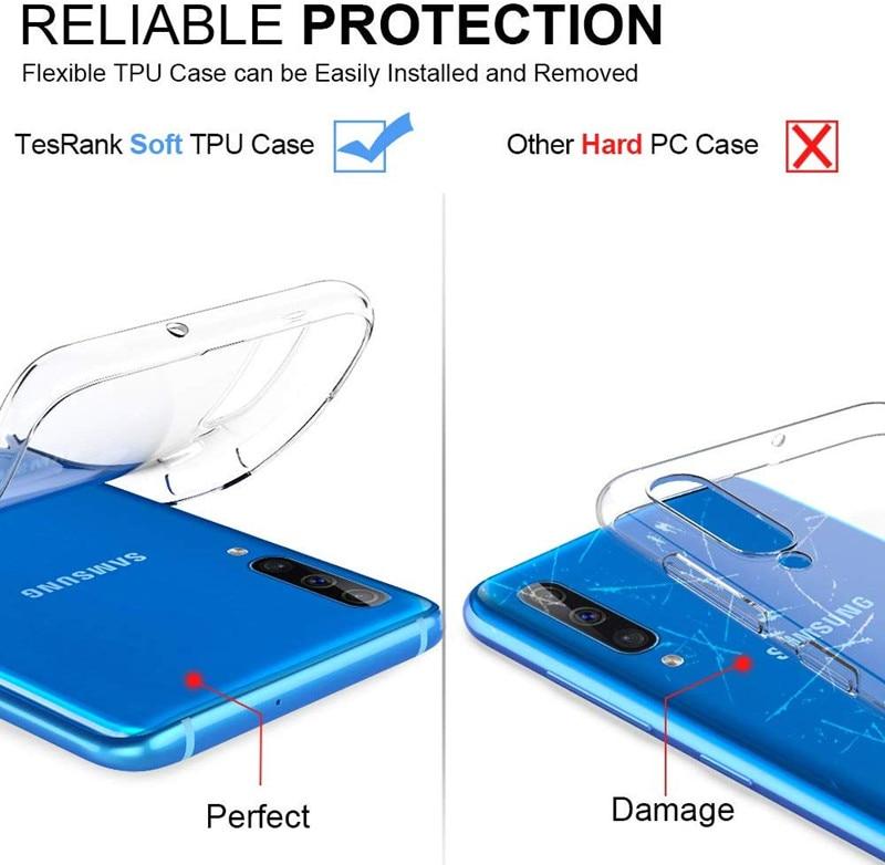 Чехол для Samsung Galaxy Note 10 Pro M30 M40 прозрачный силиконовый чехол из ТПУ для Samsung A50 A20 A40 A30 A70 A10 S10 S9 Plus S10E A20E